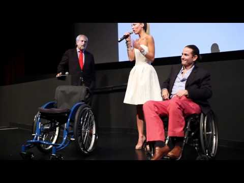 "Luis and Carolina Gonzalez-Bunster speak at benefit premiere of ""The Way"" for Walkabout Foundation"