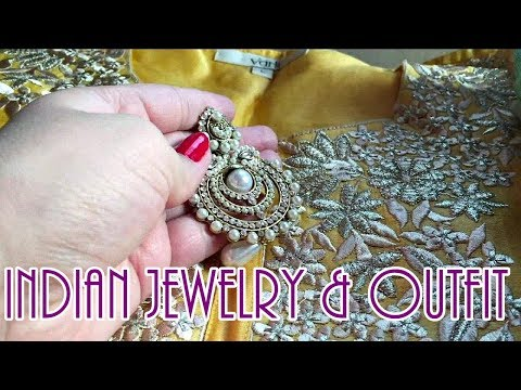 Indian jewelry for my ethnic look | A day in my life