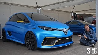 This Renault Zoe is a 460hp Electric HYPER HATCH!