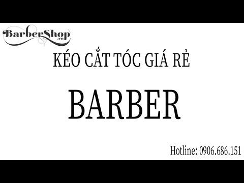 Kéo Cắt Tóc Barber Rose BFZ 60