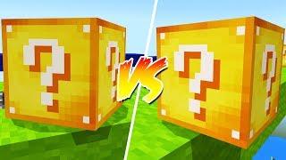 LUCKY BLOCKS VS LUCKY BLOCKS WAR!