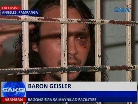 Saksi: Baron Geisler, na-inquest sa patong-patong na reklamo matapos sugurin ang bayaw