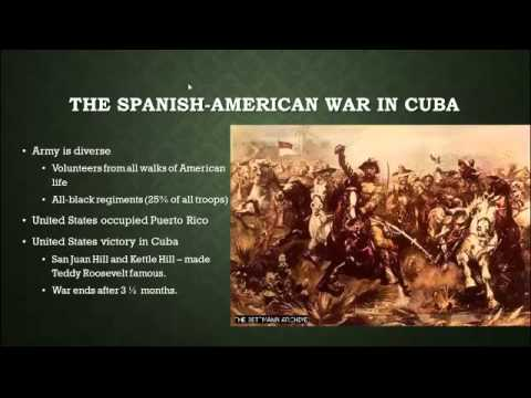 American Imperialism - The Spanish American War and New Diplomacy