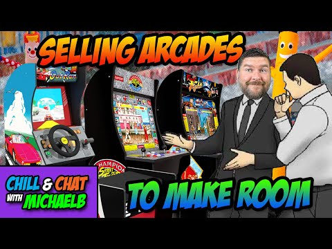 Selling Arcades To Make Room from MichaelBtheGameGenie
