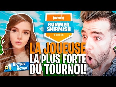 LA JOUEUSE LA PLUS FORTE DU TOURNOI BUILD TRÈS TRÈS VITE !! SUMMER SKIRMISH Game 4 ► Skyyart