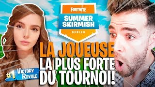 LA JOUEUSE LA PLUS FORTE DU TOURNOI BUILD TRÈS TRÈS VITE !! SUMMER SKIRMISH Game 4 ► Skyyart