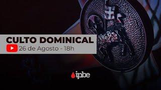 Culto Dominical - Série Apocalipse 3:7-13 - Sem. João Victor