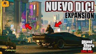 PRUEBO la CIUDAD de Cyberpunk 2077 en GTA ONLINE! NUEVO DLC de EXPANSIÓN de MAPA!