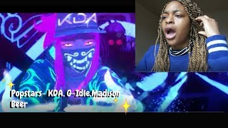K/DA - POP/STARS (ft Madison Beer, (G)I-DLE, Jaira Burns) MV - League of Legends Reaction