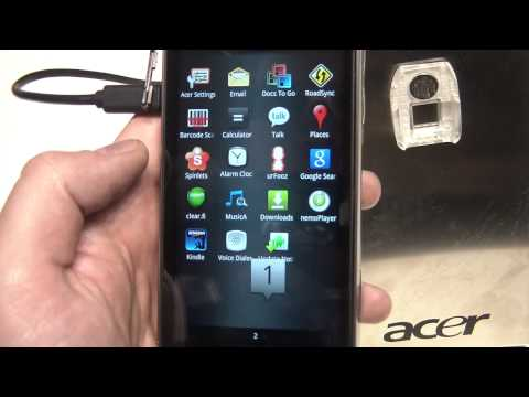 Acer Iconia Smart Hands On at MWC11