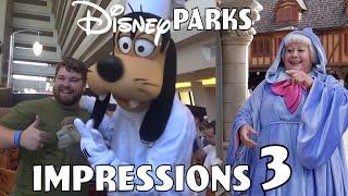 Disney Parks Impressions Compilation #3