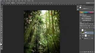 Membuat Efek Ray of Light Dengan Gradient di Adobe Photoshop