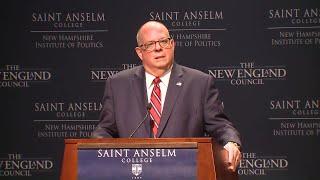 Raw video: Larry Hogan speaks at Politics and Eggs