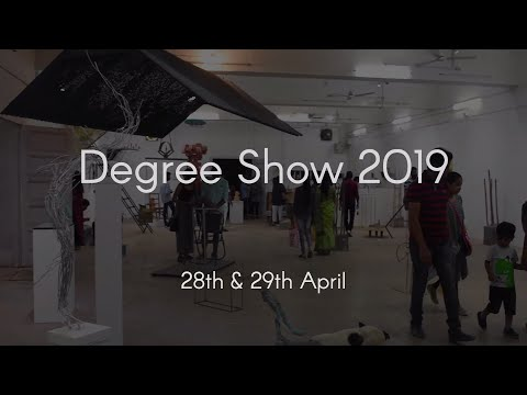 Annual Degree Show 2019 Faculty Of Fine Arts Msu Baroda Youtube
