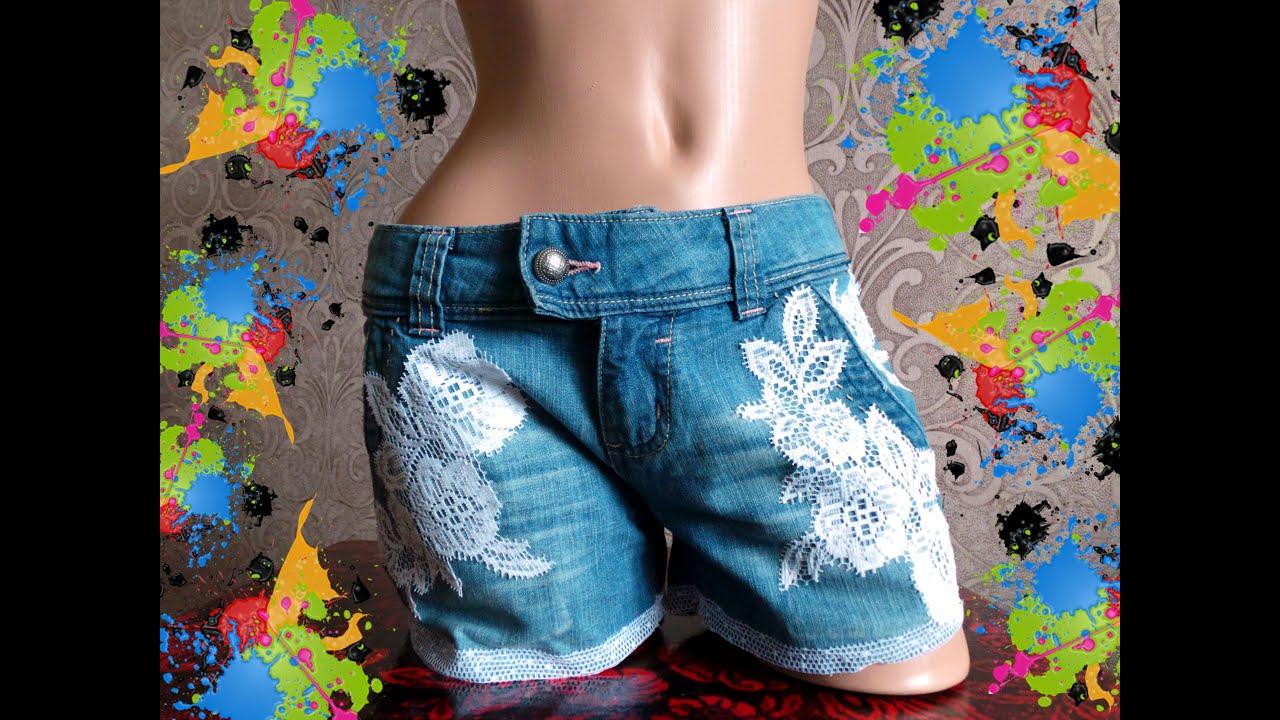 Сшить джинсовые шорты своими руками фото 279