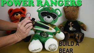 Build A Bear Green Power Rangers
