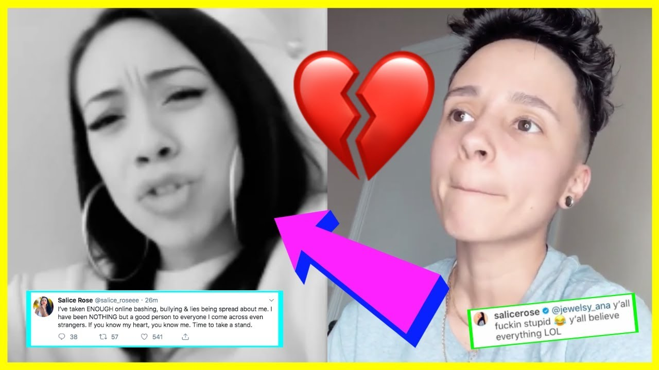 SALICE ROSE SAYS EX CHAS F IS LY!NG ABOUT THEIR RELATIONSHIP AND SHE WILL  BE ADDRESSING THE TRUTH
