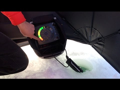 How To Use A Humminbird ICE 35 Flasher