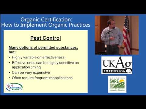 Organic Certification, Part 3: How to Implement Organic Practices