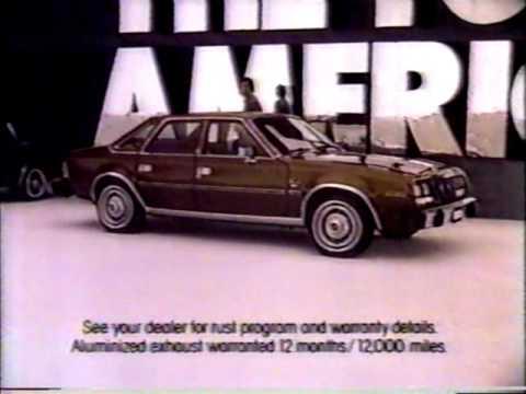 American Motors AMC commercial 1982