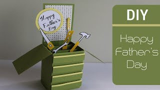 Father's Day Cards | Card In A Box | Cute and Easy Greeting Cards