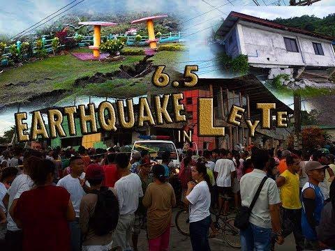 Earthquake in Ormoc City , Kananga , Capoocan Leyte july 6 2017