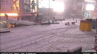 NYC Deals With Winter Storm Jonas