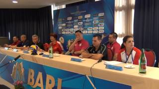 22-09-2014: fivbwomenswch Press Conference - BARI - Lang Ping (China)