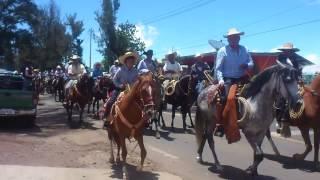 Cabalgata Ario de Rosales Domingo 20 de Julio 2014