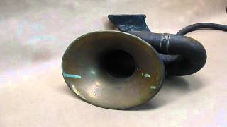 Nonpareil bulb horn.