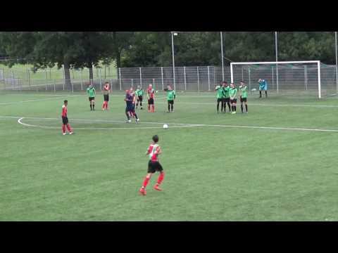 2017_06_27 FC Almere A1 - Zuid Vogels A1  1-3  1e helft