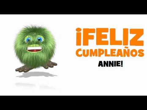 Joyeux Anniversaire Annie Youtube