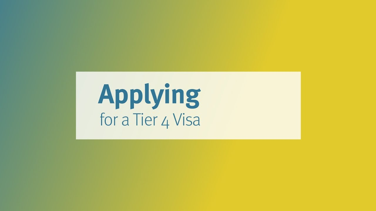 Applying For A Tier 4 Student Visa | City, University of London