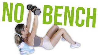 Best Bench Substitutes for Home Workouts [NO BENCH] | LiveLeanTV