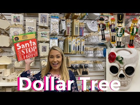 Best Dollar Tree Finds New Craft SUPPLIES !! New Christmas! Fall 2019 dollar tree shop with me haul