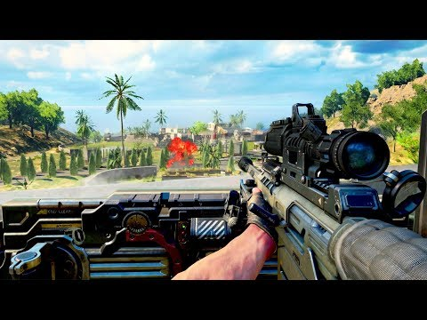 Black Ops 4 BLACKOUT GAMEPLAY TRAILER: ZOMBIES, NUKETOWN & MORE (Call of Duty Battle Royale)