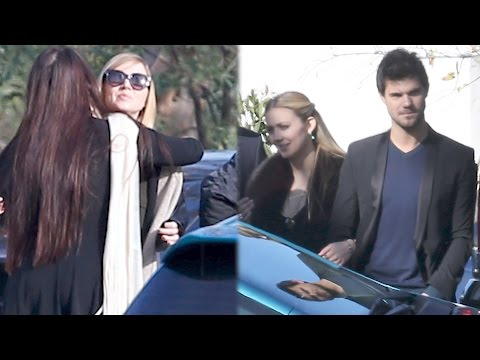Billie Lourd Hugs Loved Ones at the Funerals for Carrie Fisher and Debbie Reynolds | Splash News TV