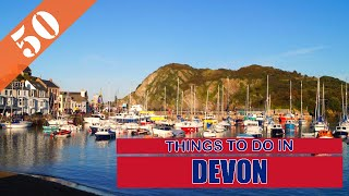 TOP 50 DEVON (ENGLAND - UK) Tourist Attractions (Things to Do)