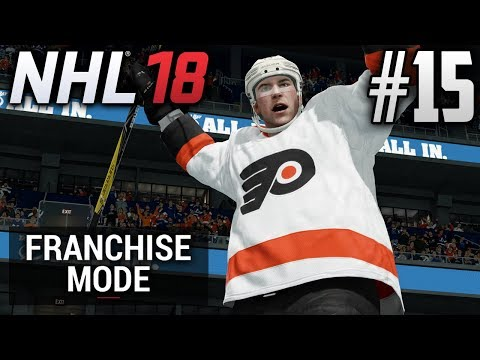 NHL 18 Franchise Mode | Philadelphia Flyers | EP15 | ARE YOU READY FOR PLAYOFF HOCKEY?!? (S2) (R1G1)