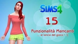 The Sims 4 - 15 Features che non saranno presenti al momento del lancio :