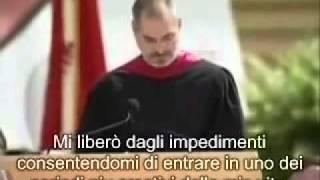 Discorso di Steve Jobs ai neolaureati di Stanford    Sottotitoli in italiano