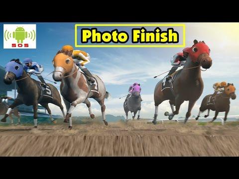 Dica + recado -  Photo Finish Horse Racing gameplay Android