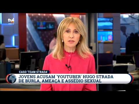 "Noticia TVI do caso da ""Team Strada"" com áudios do Hugo Strada"
