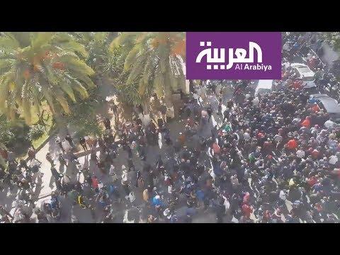 تظاهرات في بجاية شرق البلاد احتجاجا على ترشح بوتفليقة لولاية خامسة  - 20:54-2019 / 2 / 22