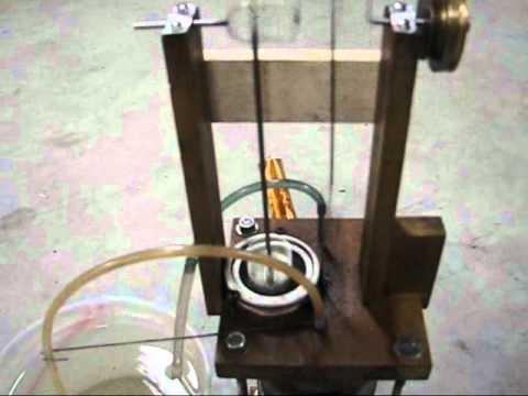 1200 rpm DIY water bottle Stirling engine