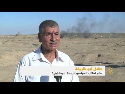 شهيد ومئات الجرحى بنيران الاحتلال في غزة  - نشر قبل 4 ساعة