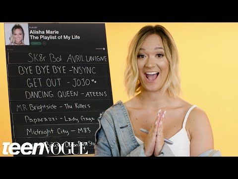 Alisha Marie Creates the Playlist to Her Life  Teen Vogue