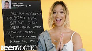 Alisha Marie Creates the Playlist to Her Life | Teen Vogue