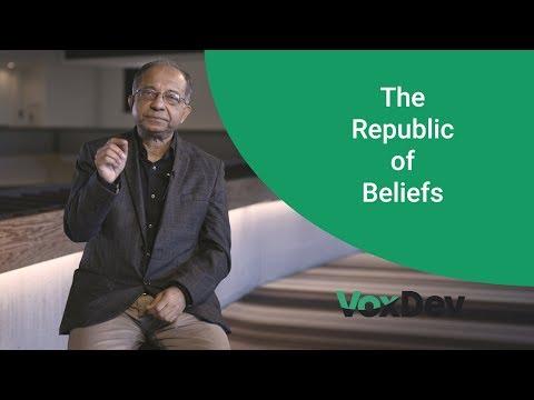The republic of beliefs - Kaushik Basu, Cornell University