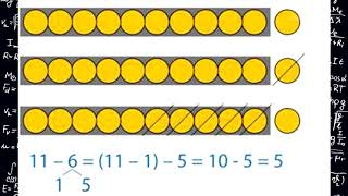 Математика 1 класс Урок 18 Сложение и вычитание однозначных чисел с переходом через разряд  Таблица